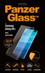 PanzerGlass zaščitno steklo za Samsung Galaxy S10+, črno 7176