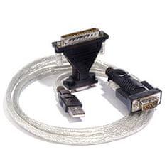 PremiumCord USB 2.0 - RS 232 pretvornik s čipom, marke FTDI