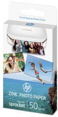 HP ZINK Sprocket Ragasztó fotópapír (1DE37A)