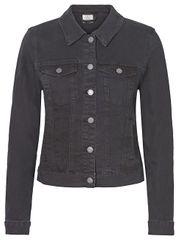 Vero Moda Dámska džínsová bunda VMHOT SOYA 10193085 Black