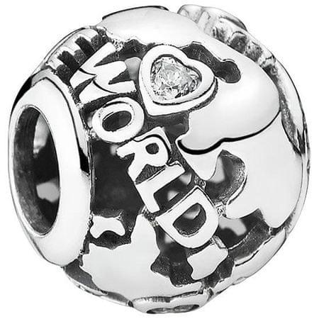 Pandora Srebrny koralik dookoła świata 791718EN srebro 925/1000