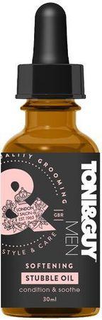 Toni&Guy Zjemňující olej na vlasy a vousy pro muže (Softening Premium Stubble Oil) 30 ml