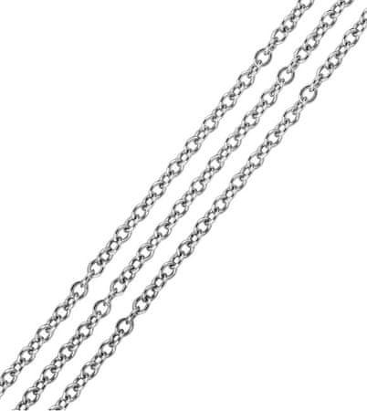 Brilio Silver Ezüst lánc Anker 50 cm 471 086 00152 04 - 3,40 g ezüst 925/1000
