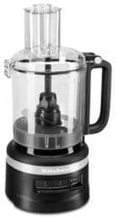 KitchenAid kuhinjski robot KFP0919EBM, 9 cup, mat crne boje