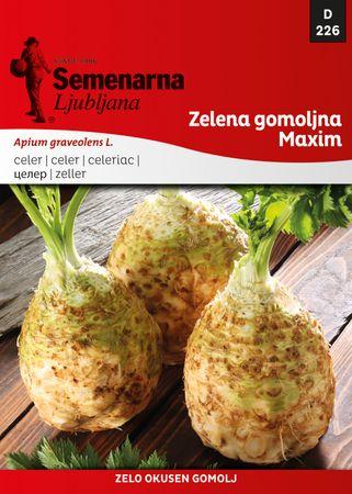 Semenarna Ljubljana gomoljna zelena Maxim, 226, mala vrečka