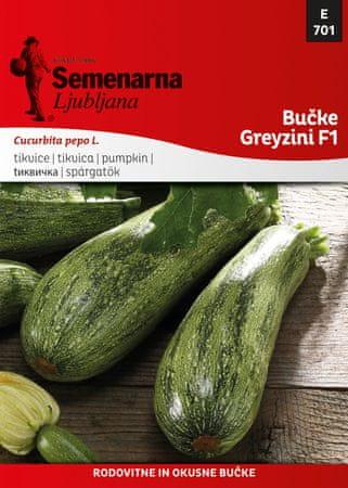 Semenarna Ljubljana tikvice Greyzini F1 E701, mala vrećica