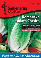 Semenarna Ljubljana rimska salata Corsica, 360 Mediteran, mala vrećica