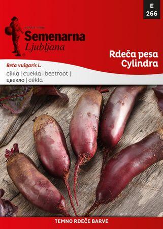 Semenarna Ljubljana rdeča pesa Cylindra, 266, mala vrečka