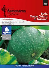 Semenarna Ljubljana bučka Tonda Chiara di Toscana, 706 Mediteran, mala vrečka