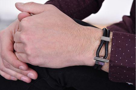 380c49b2c Calvin Klein Pánsky kožený náramok Anchor KJ8WBB09010M - Parametre ...