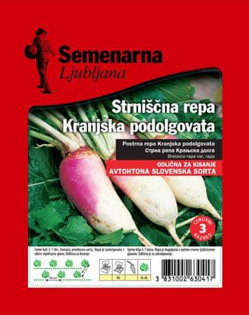 Semenarna Ljubljana repa kranjska podolgovata, 50 g