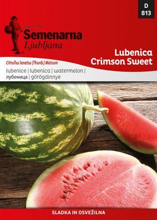 Semenarna Ljubljana lubenica Crimson Sweet D813, mala vrečka
