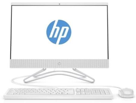 HP namizni računalnik 24-f0001ny AIO NT i3-8130U/4GB/SSD256GB/23,7FHD/FreeDOS (4UB76EA)