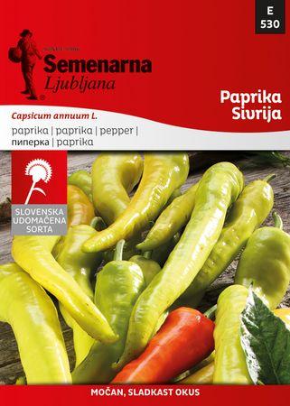 Semenarna Ljubljana paprika Sivrija, 530, mala vrečka