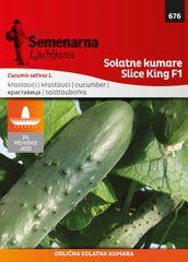 Semenarna Ljubljana solatne kumare Slice King F1, 676 Mehika, mala vrečka