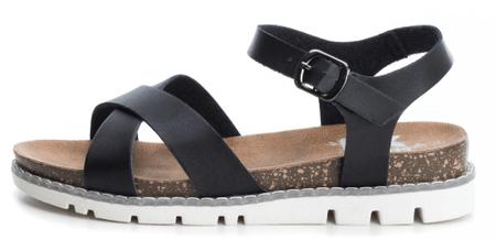 XTI sandały damskie 36 czarne