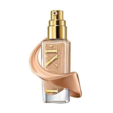 Avon Luxe SPF 20 svilena tekočina 30 ml (Odtenek Natural Glamour)