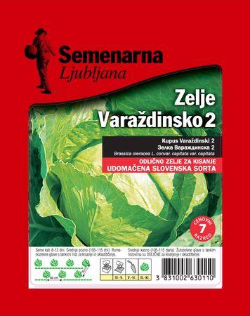 Semenarna Ljubljana zelje Varaždinsko 2, 50 g