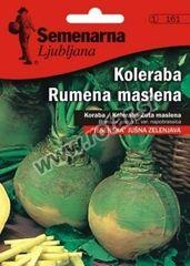 Semenarna Ljubljana koleraba, rumena, maslena, 161, mala vrečka