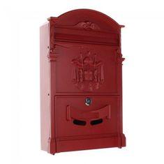 Rottner poštni nabiralnik Ashford, rdeč