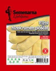 Semenarna Ljubljana fižol, rumen, ploščat, nizek, 100 g