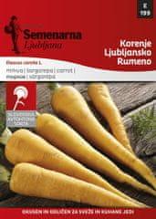 Semenarna Ljubljana korenje, Ljubljansko, rumeno, 199, mala vrečka