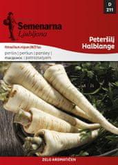 Semenarna Ljubljana peteršilj Halblange, 211, mala vrečka