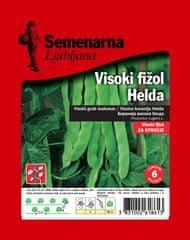 Semenarna Ljubljana visoki fižol Helda, zelen, ploščat, 100 g