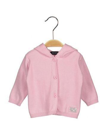Blue Seven dívčí svetr s kapucí 56 růžová