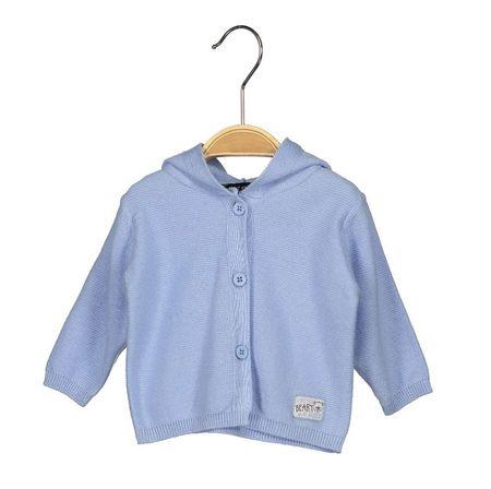 Blue Seven dívčí svetr s kapucí 68 modrá