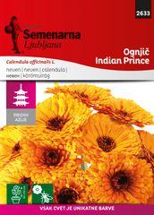 Semenarna Ljubljana vrtni ognjič M.V.Azija 2633 Callendula off.Indian Prince