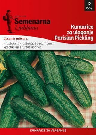 Semenarna Ljubljana kumarice za vlaganje Parisian Pickling, 637, mala vrečka