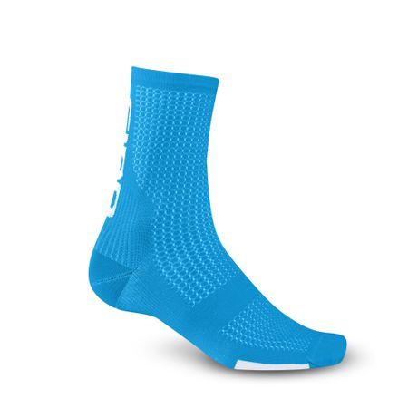 Giro moške nogavice HRC Team Blue Jewel/White, svetlo modre, M