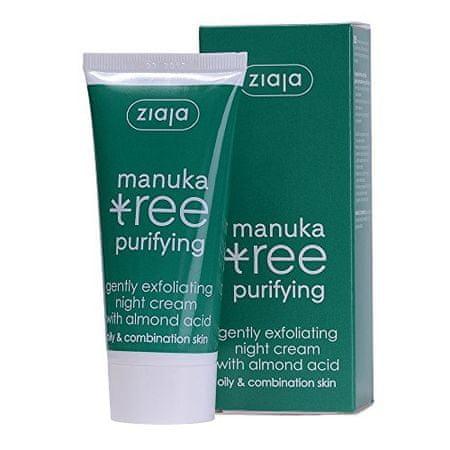 Ziaja Éjszakai krém óvatosan hámló Manuka Tree Purifying 50 ml