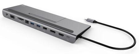 I-TEC USB-C 4K Metal Low Profile dokkolóállomás PD 85 W C31FLATDOCKPDPLUS