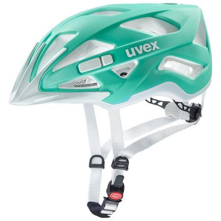 Uvex kolesarska čelada Active CC Mint/White 57-61 cm