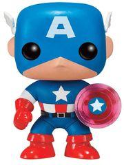 Szobor figura Marvel - Captain America Photon Shield 75th Anniversary Limited (Funko POP!) Amerika kapitány