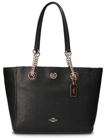 Coach ženska torbica, črna