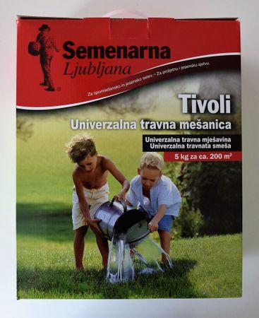 Semenarna Ljubljana Tivoli travna mešanica, 5 kg