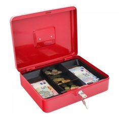 Rottner Kaseta za denar Prosigma Traun 4, rdeča