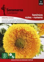 Semenarna Ljubljana sončnica nizka rumena D3702, mala vrečka