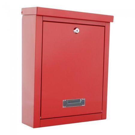 Rottner poštni nabiralnik Brighton, rdeč
