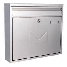 Rottner poštanski sandučić Teramo, srebrna