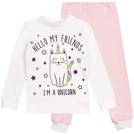 Garnamama piżama dziewczęca 110 wielokolorowa