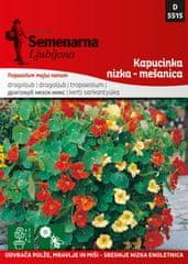 Semenarna Ljubljana Kapucinka - mešanica (Tropaeolum majus) D5474, mala vrečka