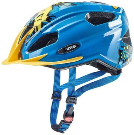 Uvex Quatro Junior, Blue/Yellow, plavo žuta, univerzalna