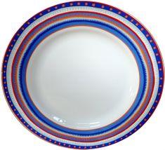 Oilily TTC talíř 22,5cm, 4 ks 15165