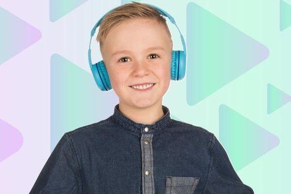 buddyphones vezeték nélküli gyerek fejhallgató play 4 hallgatási móddal állítható decibelek tanuló mód nyelv fejlesztése