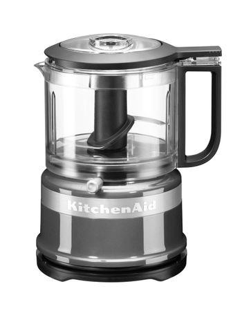 KitchenAid sekljalnik P2 KFC3516ECU, srebrn