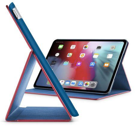 """CellularLine Pouzdro se stojánkem FOLIO pro Apple iPad Pro 11"""" (2018), červené FOLIOIPADPRO1811R"""